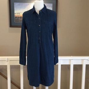 Old Navy Long sleeve Denim Dress Size Small EUC